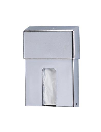 sanitary bag holder chrome